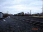CSX 7909, CSX 8031 & a rare CSX 7039 work the Q624 EB from the #1 Track to the New Lead Track